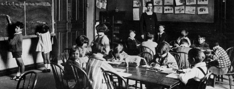LOSGRANDES PROYECTOS SOCIALES DE LA II REPÚBLICA ESPAÑOLA,escuela mixta bienio progresista II República