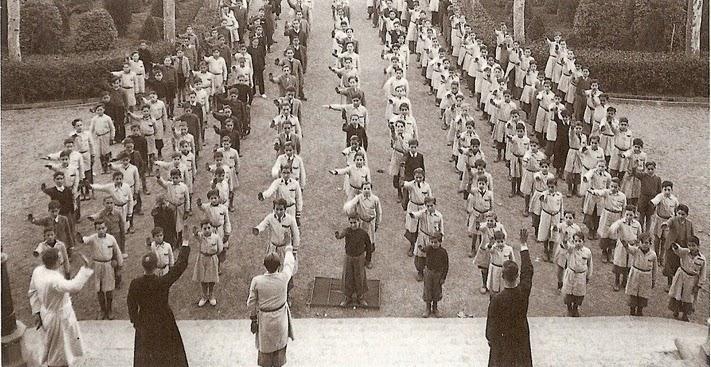 La imagen del fascismo en la escuela