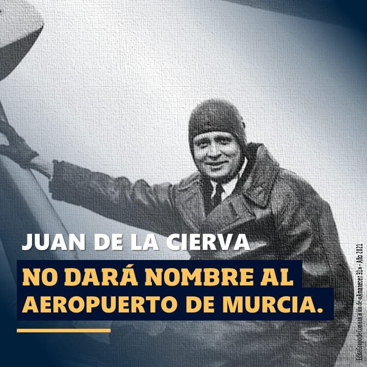 Juan La Cierva No-daran-nombre-al-aeropuerto-de-Murcia